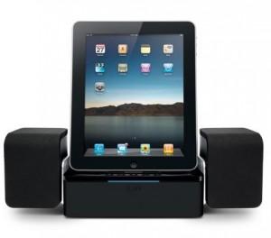 Iluv iMM747 Altec Lansing Octiv Stage MP450, iHome iA100, iLuv Audio Cube, iPad, Jensen Jips250i, Philips Fidelio