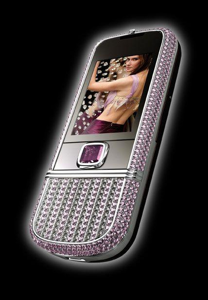 nokia8800artealoisson pink celulares de luxo, E71 Diamond, N8800 Arte, N8800 Supreme, N95 Diamond, Nokia, pictures