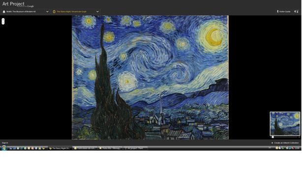 MoMA van gogh1 Amit Sood, Art Project, google, Google View Street, MoMA, pictures