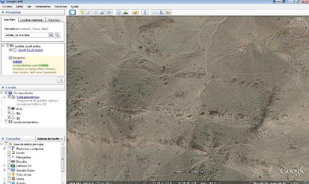 arabia saudita google earth arqueologia, david kennedy, descoberta, Google heart, University of Western Australia