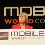 ceo yahoo barcelona, carol bartz, livestand, Mobile World Congress, pictures, yahoo