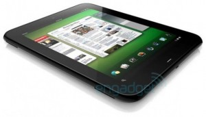 webOS tablet hp Android, Dell, Honeycomb, hp, iPad, motorola, TNW, Wall Street Journal, WebOs, Windows7, xoom