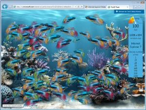 InternetExplorer9FishIEDemo browser, ie9, Internet Explorer 9, lançamento, microsoft, pictures