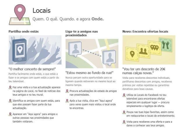 facebook locais brasil, facebook locais, facebook places, georeferenciação, pictures, Portugal