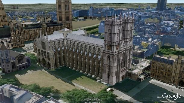 london22 WestminsterAbbey casamento real, Google Earth, londres, pictures, william e kate