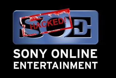 Sony online hacked