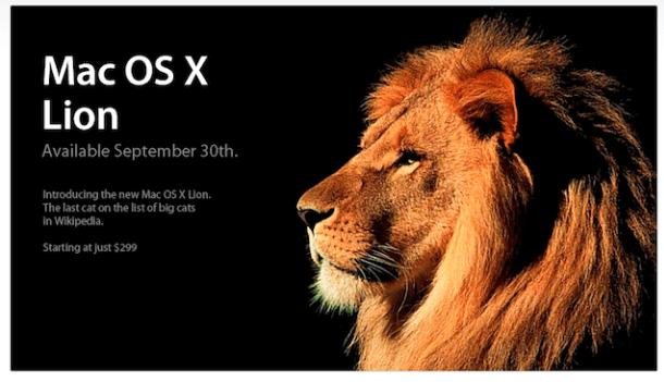 Lion, para mac