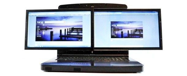 gScreen_Spacebook - notebook com duas telas