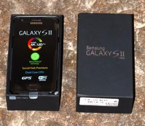 caixa 300x260 Review Samsung Galaxy SII: um super smartphone