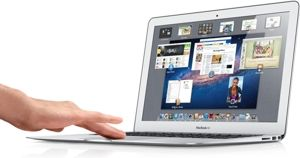 MacBook Air - multitouch
