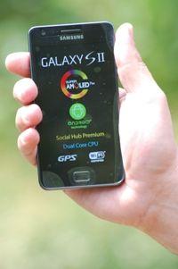samsung visão geral Review Samsung Galaxy SII: um super smartphone