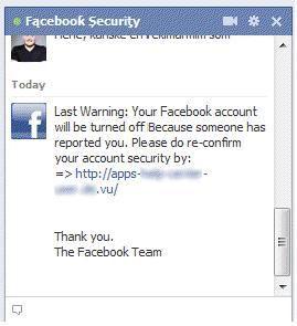 ataque a facebook