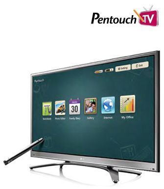 LG Pentouch TV – Uma televisão interativa