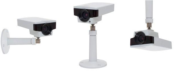 As novas câmaras AXIS M1143-L e AXIS M1144-L