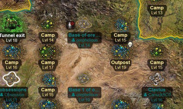 Mapa Comand & Conquer