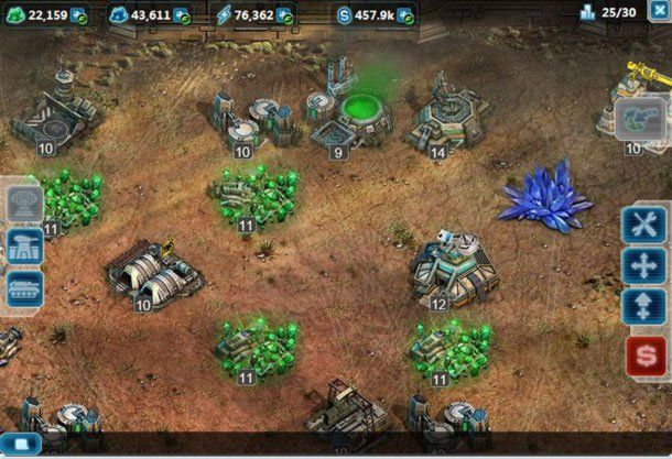 command & conquer - base