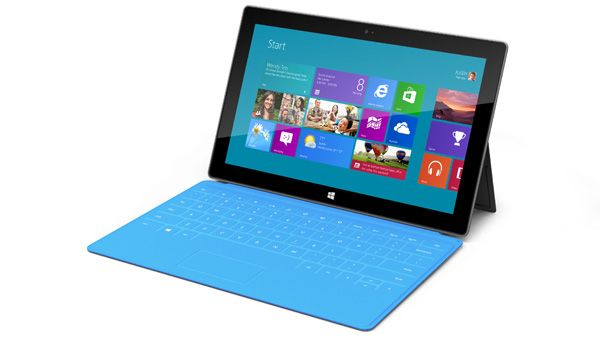 Surface com capa Touch-Cover - teclado multitoque (touch)