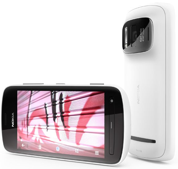 nokia 808 pureview white portrait Nokia 808 PureView, pictures, sensor fotográfico de 41 Megapixeis, smartphone