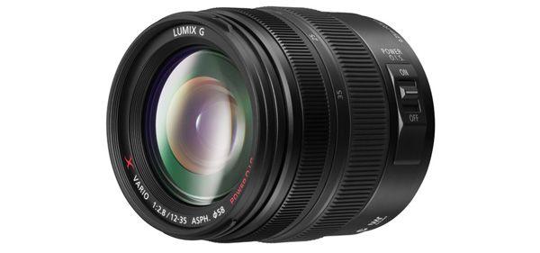 objetiva GX LUMIX VARIO 12-35 mm / F2.8 ASPHO