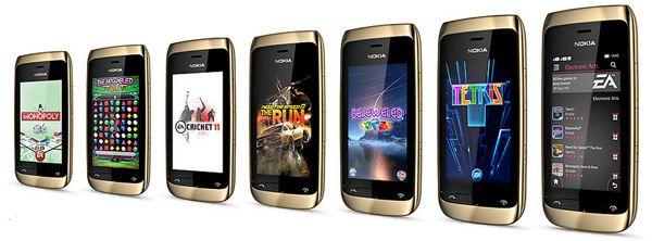 40 jogos premium da EA, apps dedicadas para aceder ao Facebook e Twitter, Nokia Messaging Service