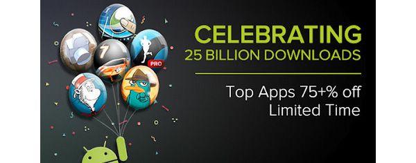 Google Play atinge 25 bilhões de downloads