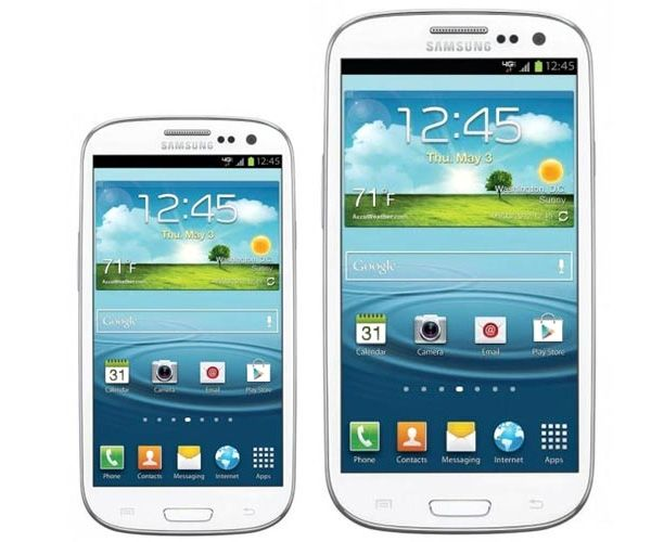 Galaxy S3 Mini e Galaxy S3