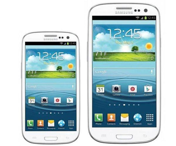 Galaxy S3 Mini e Galaxy S3
