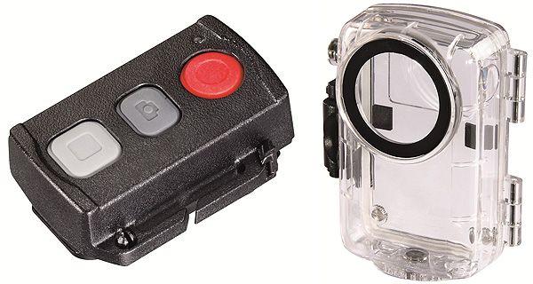 Hama Hd Daytour: controle remoto e capa à prova de água