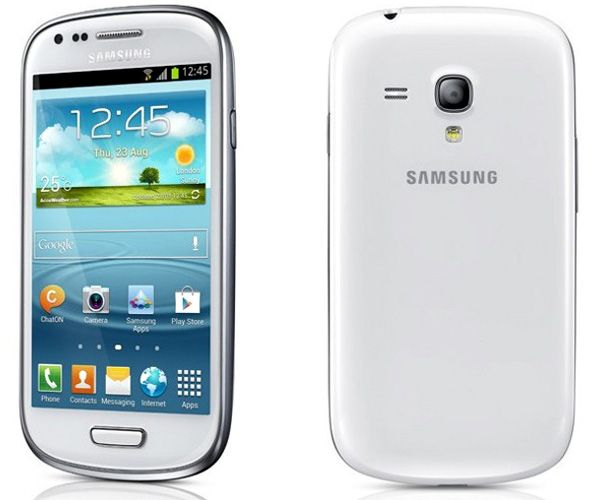 Galaxy S3 Mini: cmera traseira de 5 MP e cmera VGA frontal