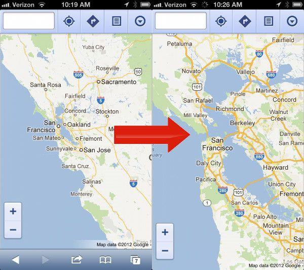 img apple google maps 02 iOS, iPad, iphone, mapas, pictures