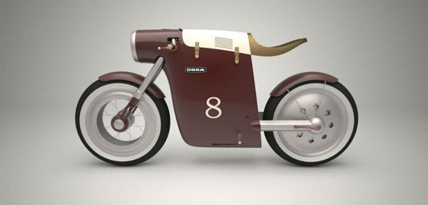 Monocasco concept bike