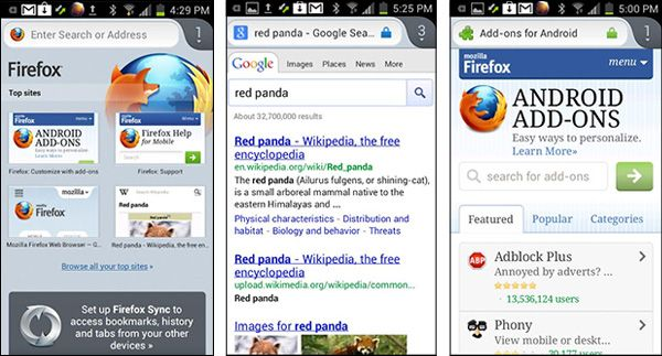 App-Firefox-para-Android