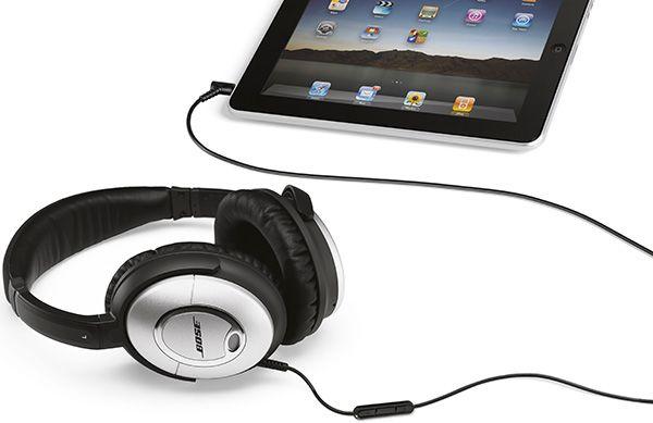 Bose QuietComfort 15 - Integração com produtos Apple