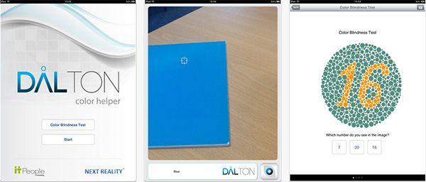 Dalton Color Helper: aplicação para iPad