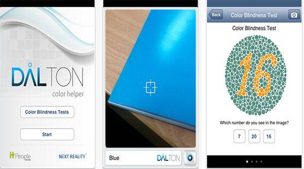Dalton Color Helper: aplicação para iPhone