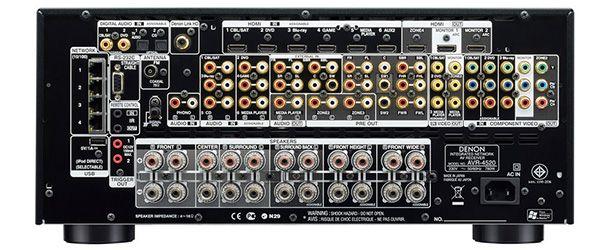 Denon AVR-4520: Processamento multicanal