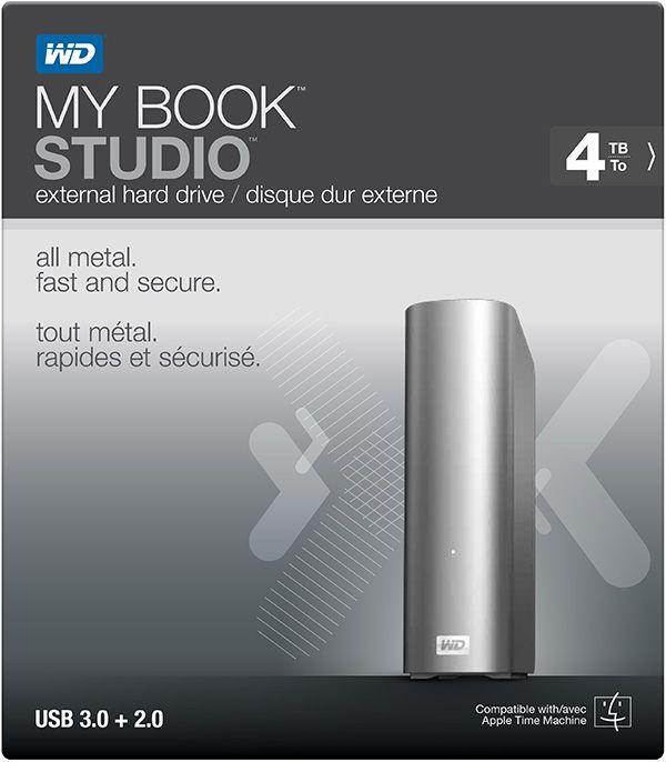 Novo My Book Studio oferece desempenho USB 3.0 ultrarrápido aos utilizadores Mac