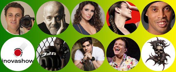 Top 10 de celebridades brasileiras no facebook