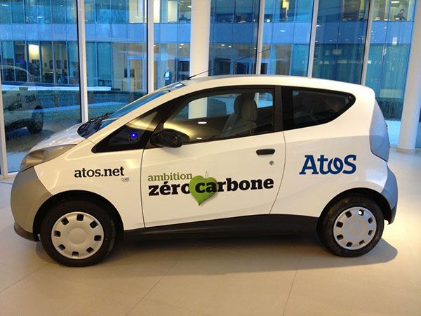 Atos and Bolloré Group launch first 100% electric corporate car fleet