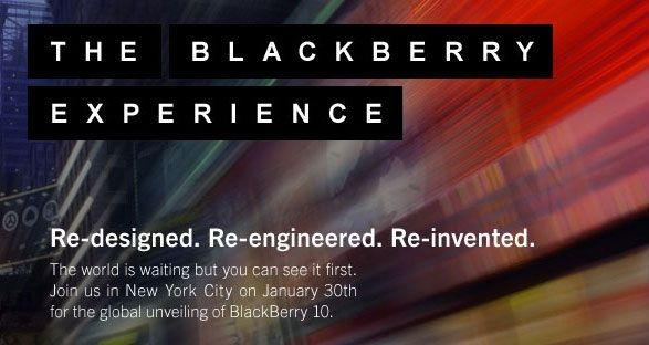 Evento BlackBerry 10