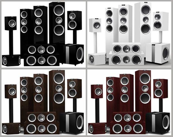 KEF-Série-R-cores