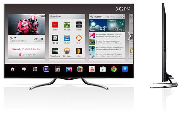 LG expande line up de Smart Google TVs