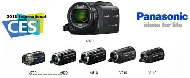 Panasonic lança novas câmaras de vídeo com conexão WI-FI