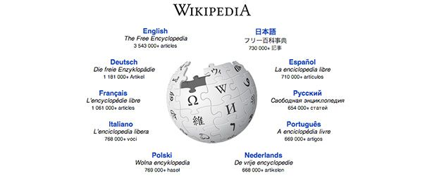 Wikipédia, a enciclopédia livre.