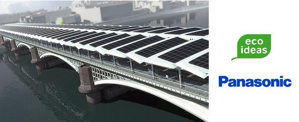 Londres terá a maior ponte solar do mundo