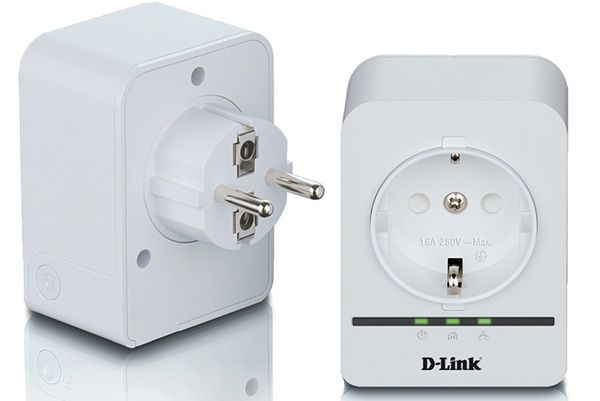 D-Link DHP-P309AV Kit PLC Powerline 500 Mbps com Passthrough