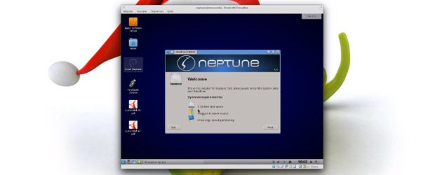 Linux ZevenOS 3.1 Neptune,