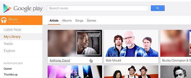 Google lança o streaming de música