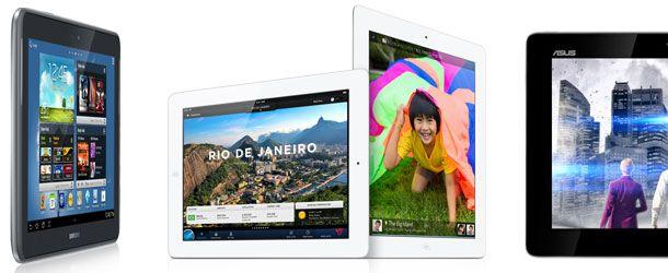 Mercado dos tablet está a mudar