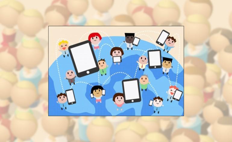 Social-Network-People-Cartoon
